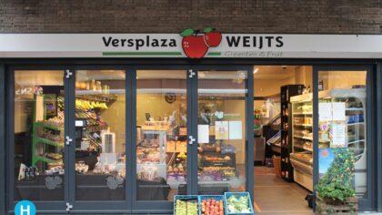 Versplaza Weijts stopt met winkel Ameidestraat