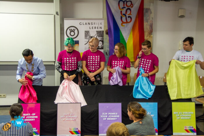 Ook aandacht 'regenboogstad' Helmond voor Roze 50+