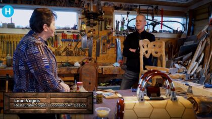 Bij een vak apart bezoekt DitisHelmond Leon Vogels restauratie