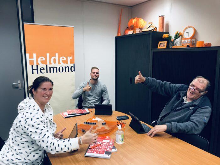 Online buurtcafé Helder Helmond