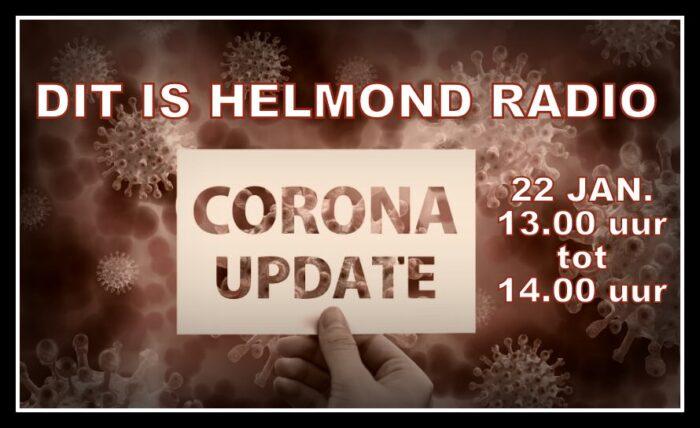 Vrijdag extra radio-uitzending Corona Update