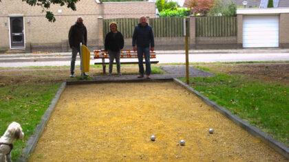 Kern met Pit-predicaat voor jeu de boulesbaan in Brouwhuis