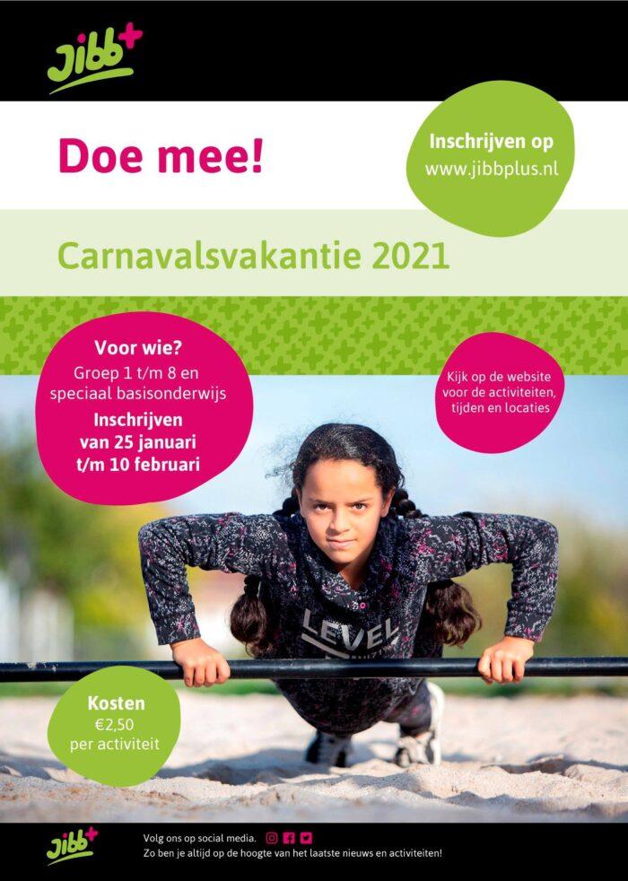 Carnavalsvakantie 2021 met Jibb+Helmond