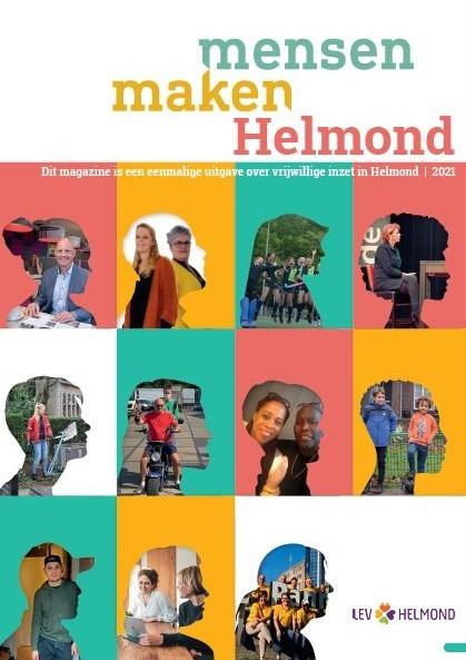 Magazine 'Mensen maken Helmond' valt op ieders deurmat