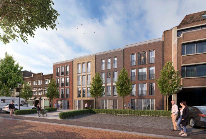 Bouw vier stadsvilla's aan 't Hof van Helmond