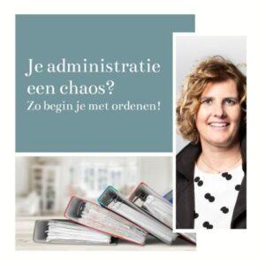 Webinar: administratie op orde krijgen @ Bibliotheek Helmond-Peel