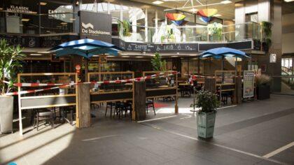 Helmondse horeca bouwt terrassen op uit protest