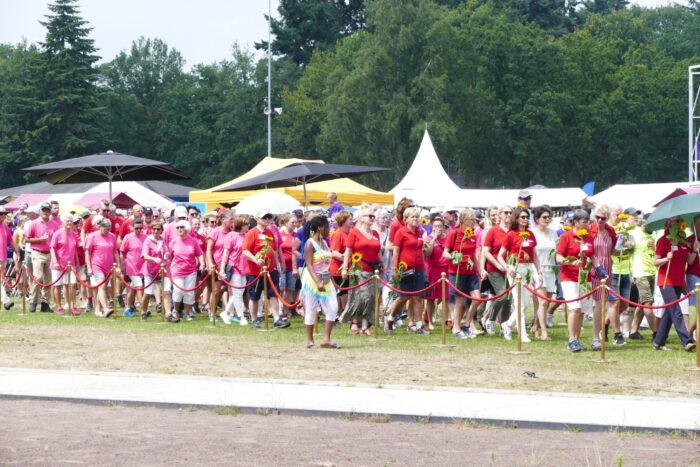 Samenloop voor Hoop 2022 rond kasteel in centrum Helmond