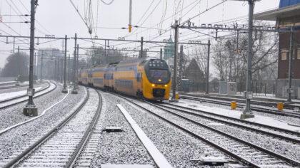 Geen treinen door extreem winters weer