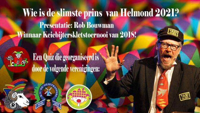 Wie wordt de Slimste Prins van Helmond 2021?