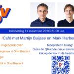 VVD: Icafe met Mark Harbers (#7 van de VVD) en