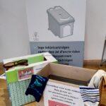 Lege inktcartridges,oude brillen of oude sokken? Niet weggooien, breng ze bij ons!
