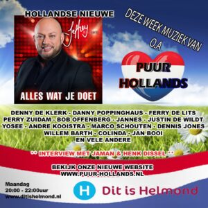 Puur Hollands op DitisHelmond radio