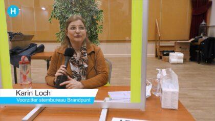 De eerste stemmen in Helmond zijn binnen