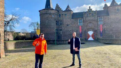 Code Oranje lijsttrekker Richard de Mos bezoekt Helmond