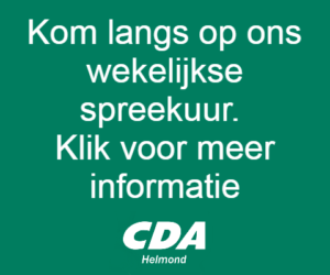 1e wijkbijeenkomst CDA Helmond in Mierlo-Hout @ wijkhuis De Geseldonk