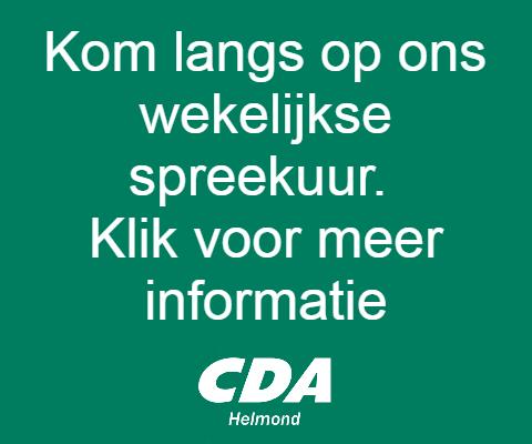 1e wijkbijeenkomst CDA Helmond in Mierlo-Hout
