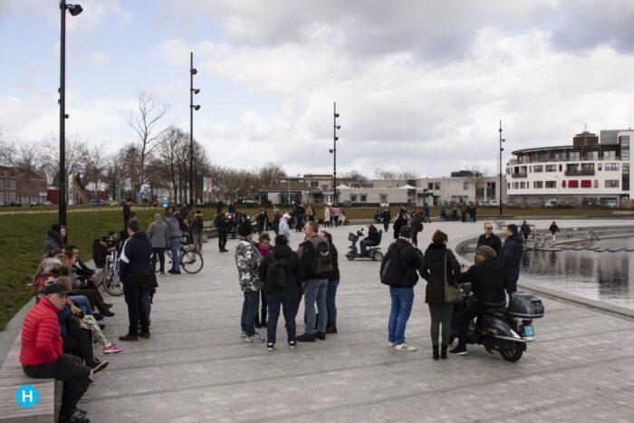 Demonstratie in Geukerspark is rustig verlopen