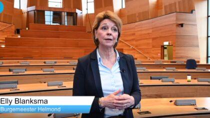 Burgemeester Blanksma hoopt dat veel mensen gaan stemmen