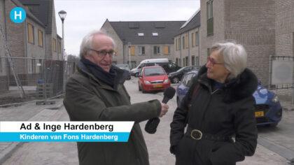 Oud-wethouder Fons Hardenberg krijgt een straat