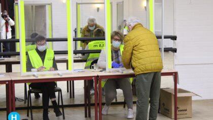 Stembureaus in Helmond zijn geopend