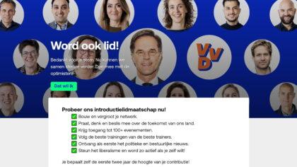 VVD: Kiezers bedankt!