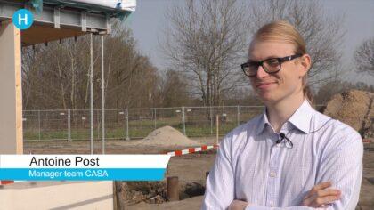 Team CASA bouwt duurzame woning in Helmond