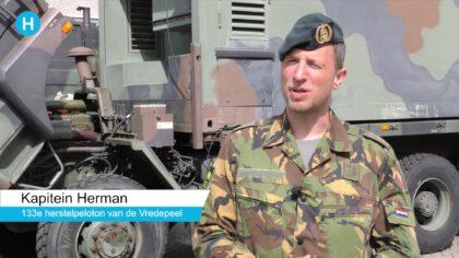 Een week lang oefende defensie in Helmond
