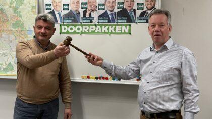 Pieter Vervoort nieuwe fractieleider CDA Helmond