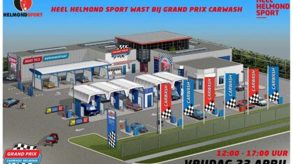 Helmond Sport regelt wasstraat voor leden en supporters