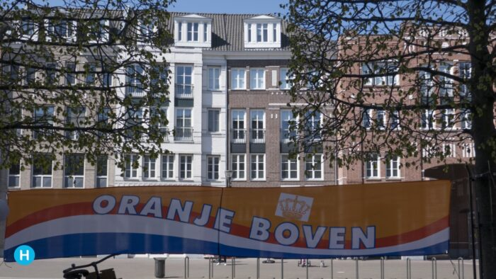 Koningsdag in Helmond, de stad kleurt oranje