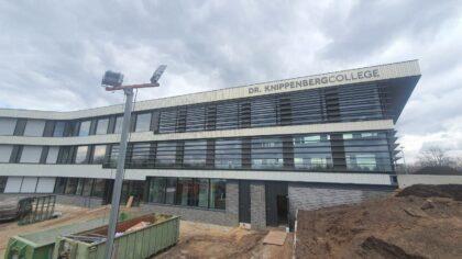 Nieuwe Dr.-Knippenbergcollege is bijna af