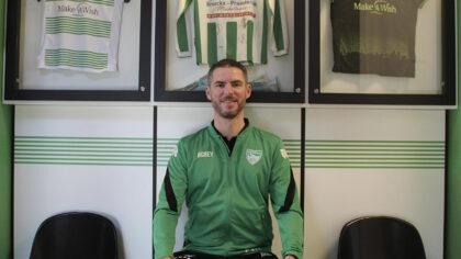 Hoofdtrainer Patrick van Hout verlengt contract SV Brandevoort