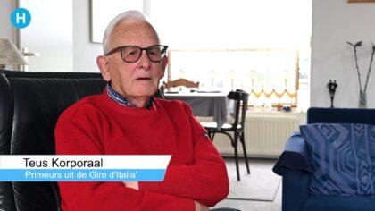 Wielerfanaat Teus Korporaal brengt boek uit over Ronde van Italië