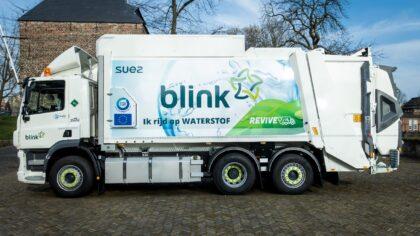 Vuilniswagens op waterstof: duurzame afvalinzameling regio Helmond