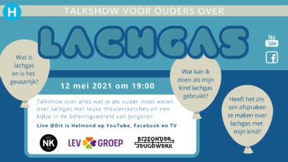 Talkshow voor ouders over lachgas