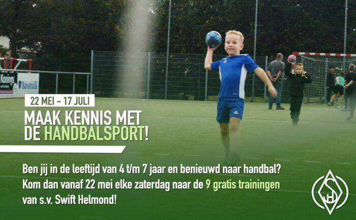 Kennismaken met de handbalsport