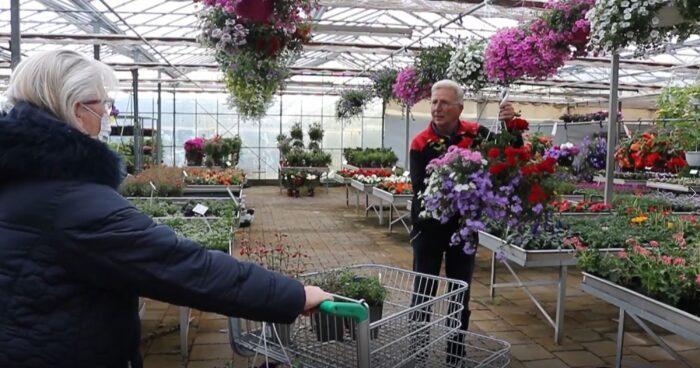 Tuincentrum Peter van Gennip nog eenmalig in bloei