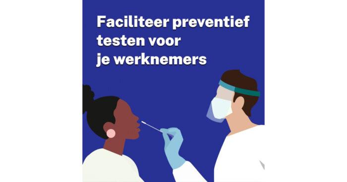 Mogelijkheden preventief of zelftesten werknemers