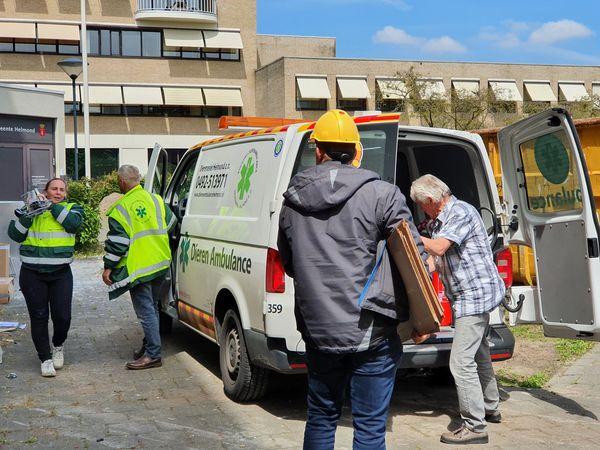 Verenigingen geven tweede leven aan spullen Stadskantoor
