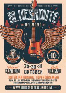 Bluesroute Helmond 2021 @ Helmond-Centrum