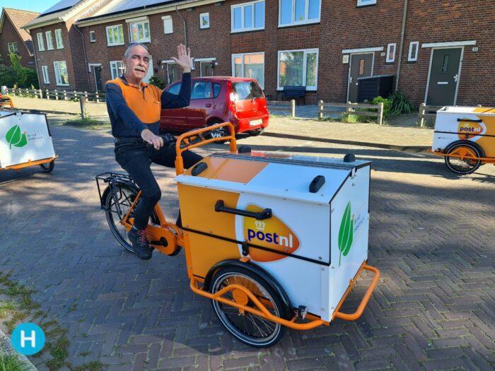 Alle post voortaan elektrisch bezorgd in Helmond