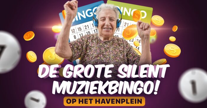 Geannuleerd: De grote silent muziekbingo op het Havenplein
