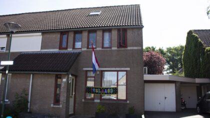 De vlag kan uit voor de geslaagden in Helmond