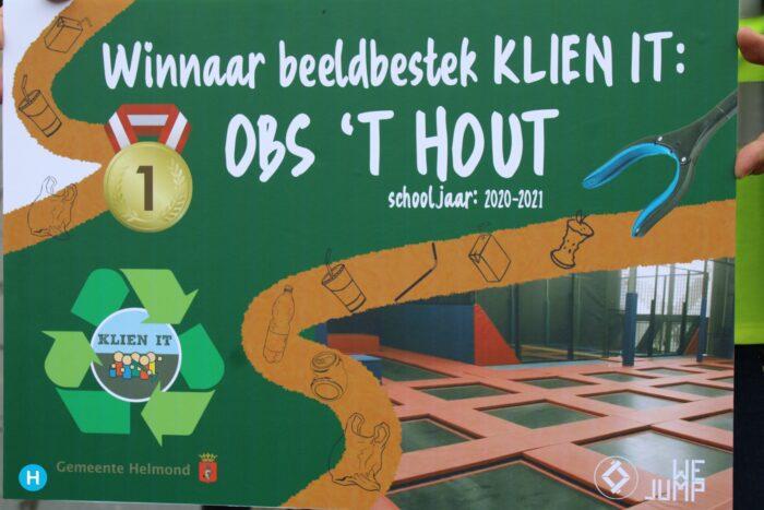 OBS 't Hout wint drie prijzen voor deelname KLIEN IT