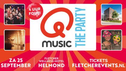 Qmusic the Party komt naar Helmond