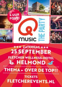 Qmusic - the Party - 4 uur Fout! @ Fletcher Wellness-Hotel Helmond