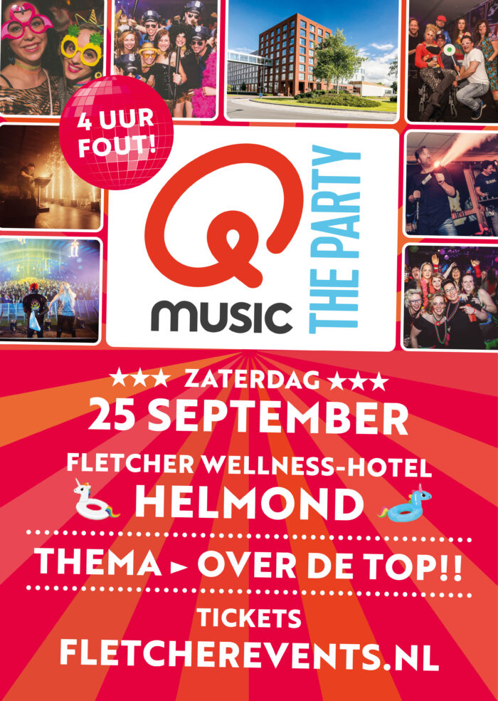 Qmusic – the Party – 4 uur Fout!