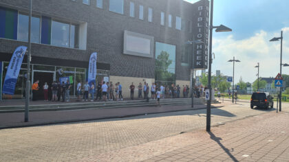 Drukte voor spoedtest in Helmond