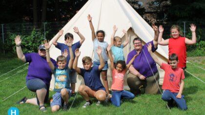 De Gieren van Scouting Rijpelberg zijn op kamp